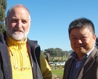Prof Finlayson and Prof Shi