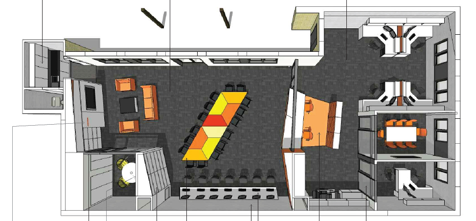 Wagga Indigenous Student Centre concept drawing