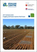 Cropping and Pasture Systems Field Forum