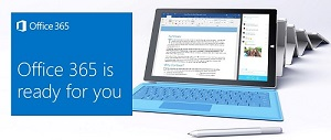 Office 365 advertisement