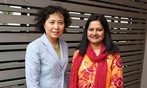 Professor Bing Wang and Dr Marefa Jahan