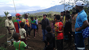 Dr Jian Liu visited PNG recently as part of her research into improved strategies for pest and disease management