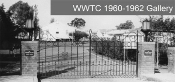 The Mary Gilmore Gates at the Wagga Wagga Teachers' College