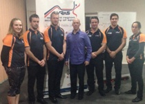 S&C interns with Dr Steve Bird