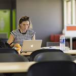 Wagga Library study space
