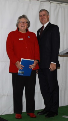 Professor Kath Bowmer and Mr Michael McCormack MP