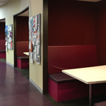 Bathurst 24/7 Learning Commons study booths