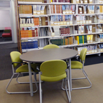 Orange Library Study space and journal collection