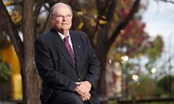 Photo of CSU Chancellor Mr Lawrie Willett AO