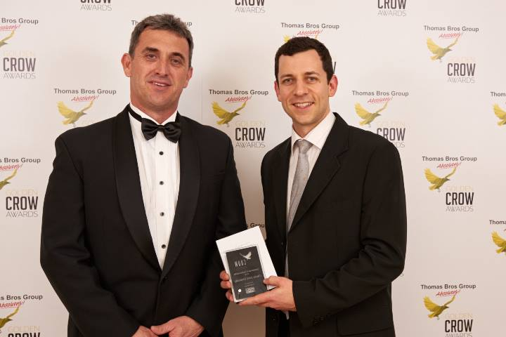 2016 Golden Crow Award ED Maher and Paul Olsen Origin Energy