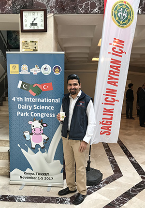 PhD student Mr Shafiullah (Shafi) Sahibzada was an invited speaker at the conference