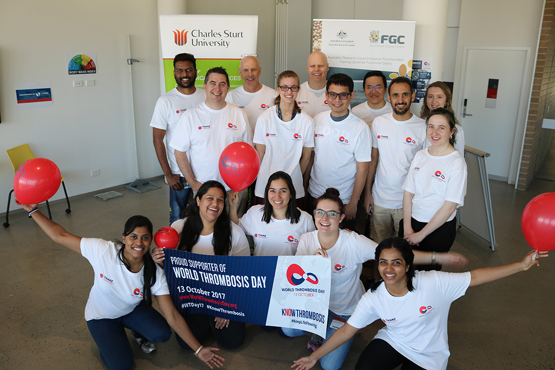 Researchers from the FGC raise awareness of World Thrombosis Day
