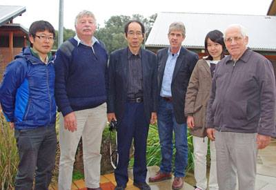 Meeting of Japanese researchers and Australian Landcare researchers
