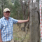 Dr peter Spooner and a survey tree