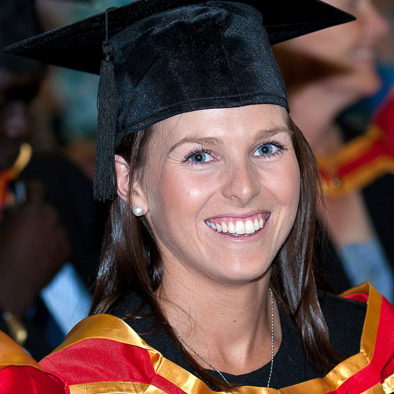 Bachelor of Agricultural Business Management Graduate Rachel Connell