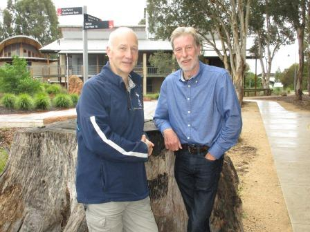 Rob McInnes and Prof Nick Davidson