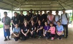 2015 CSU student nurses in Thailand