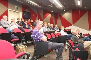Audience at CSU Public Lecture series April 20