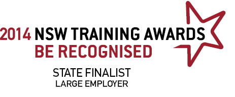 NSW Training Awards State Finalist 2014