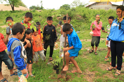 Tree Planting Lao Fish Passage project