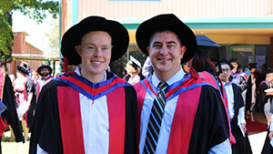 Dr Kyle Reynolds and Professor Chris Blanchard
