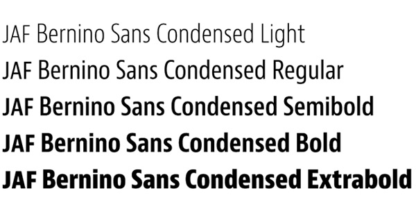 Mobile Font Example