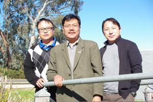 Dr Tashi Samdup with Karma Tenzing and Kuenga Namgay