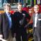Prof Bruce Shindler, Wodonga Station Officer David Brown and Prof Allan Curtis