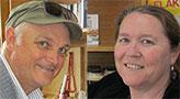 Dr's John Rafferty and Helen Masterman-Smith