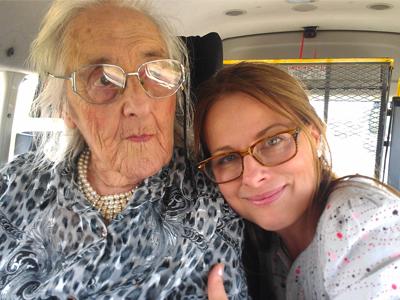 Dulcie with Daniella Greenwood
