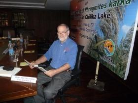 Prof Max Finlayson Chilika Lake Meeting