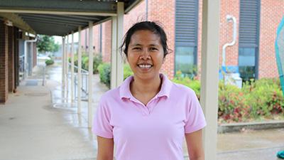 PhD candidate Jhoana Opena