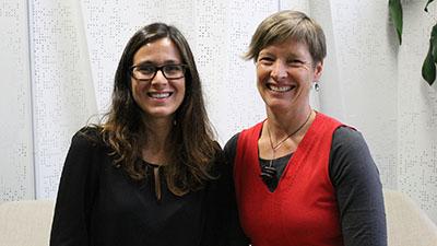 Dr Marta Hernandez-Jover and Dr Jennifer Manyweathers