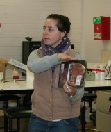 PhD-student-Steph-Fowler-discussing-meat-quality-with-students-at-the-2014-Graham-Centre-Science-and-Agriculture-Enrichment-Day