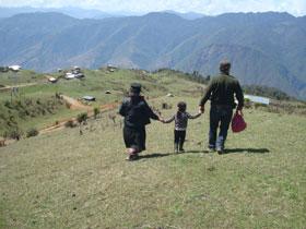 broka yak herding family