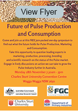 Future of Pulse Production and Consumption
