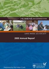 Annual Report 2005 cover