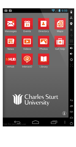 csu2 mobile screen